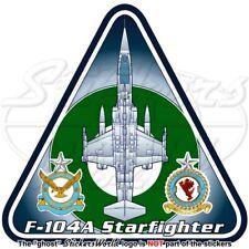 F-104 STARFIGHTER PAKISTAN Lockheed F-104A Pakistani Air Force PAF Sticker Decal