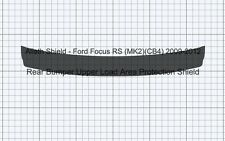 Ford Focus RS (MK2)(CB4) Rear Bumper upper load CLEAR Protection Decal Foil