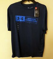 New w tag's Men's Lg Under Armour Protect This House Heat Gear Shirt Nvy blue!!!