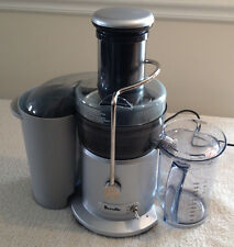 Breville Jucie Fountain Juicer Gray Model JE98XL 850 Watt