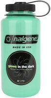 Nalgene Tritan Wide Mouth Glow 32 oz. Water Bottle - Green