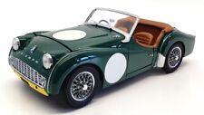 Kyosho 1/18 Scale Model Car 08032GY - Triumph TR3A - Green