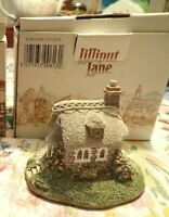 Vintage 1992 Lilliput Lane Wheyside Cottage in original box - figurine and box