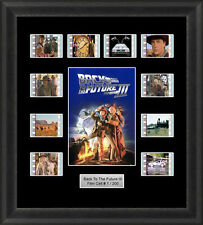 Back to the Future 3 Framed 35mm Film Cell Memorabilia Filmcells Movie Cell Pres