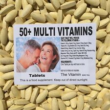 50+ MULTIVITAMIN PLUS (365 tablets)   One per day FREEPOSTAGE
