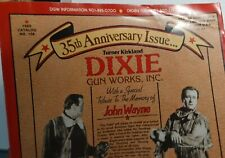 Vintage Catalog Dixie Gun Works #138 35th Anniversary John Wayne Tribute 1989