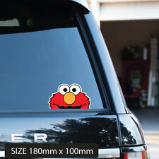 POPULAR PEEPING ELMO CAR STICKER