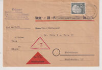 BUND, Mi. 189 EF, NN-Paderborn, 27.3.57