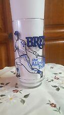 UNIQUE 1981 MSA Pepsi Brett the all around threat Glass