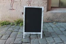 Large A-frame Chalkboard Recycled Timber Rustic Blackboard