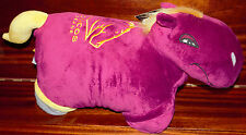 PILLOW PET NRL OFFICIAL PRODUCT BRISBANE BRONCOS BUCK THE BRONCO SOFT CUDDLY NEW