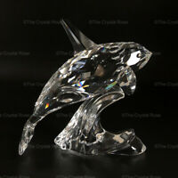 RARE Retired Swarovski Crystal Orca / Killer Whale 622939 Mint Boxed