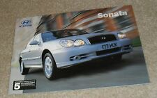 Hyundai Sonata Brochure 2003 - 2.0 CDX & 2.7 V6 Saloon