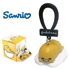 Gudetama Lazy Egg Blind Bag Backpack Keychain Dangler Hanger Clip- Laying Down