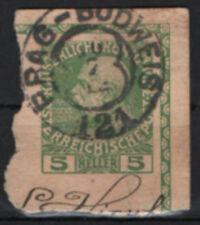 Echte gestempelte Briefmarken mit Königshäuser österreichische
