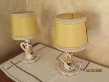 Lampes de chevet en double