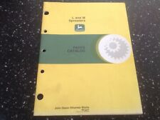 John Deere L and M Spreaders Parts Catalog Pc-221