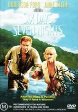 Six Days Seven Nights NEW DVD Anne Heche David Schwimmer Harrison Ford REGION 4