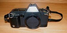 Vintage Canon T70 AE Dual Metering System 35mm SLR Film Camera Body Only