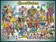 80's Vintage Eighties Video Poster HANNA BARBERA Poster |24 inch X 33 inch| 01
