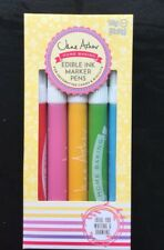 Jane Asher Baking - 5 Edible Ink Marker Pens-  Food Colours Pens - Cake Decor