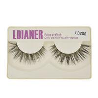 1 Pair New Makeup Mink Thick False Eyelashes Natural Fake Eye Lashes Extension