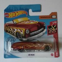 '49 Merc Hot Wheels 2020 Caja M Hw Flames 1/10 Mattel