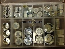 HYDRAULIC O-RING FACE SEAL ORS PLUG AND CAP KIT 50pc