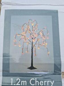 1.2 m Cherry Blossom Tree 144 lights Outdoor Indoor Light Garden