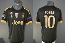 Juventus Pogba Football Champions League Mens Shirt Jersey 2015/2016 Size L 5-/5
