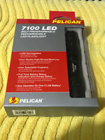 Pelican 7100 Rechargeable Tactical Flashlight (Black)