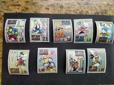 Mint Disney Mickey Mouse Donald Duck Stamps San Marino Never Hinged