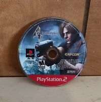 Resident Evil 4 PlayStation 2 disc only Tested