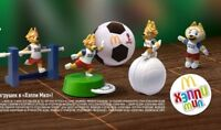 Mcdonalds Happy Meal toys ZABIVAKA FIFA RUSSIA Choose your hero NEW 2018