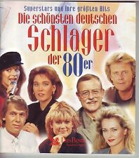 DIE SCHÖNSTEN DEUTSCHEN SCHLAGER DER 80er - Reader's Digest  5 CD Box