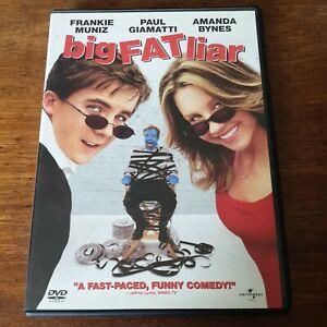 Big Fat Liar DVD (Region 1 USA CANADA)