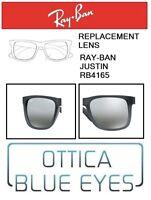 Lenti di Ricambio RAYBAN JUSTIN RB 4165 filtri Replacement Lenses Ray Ban 852/88