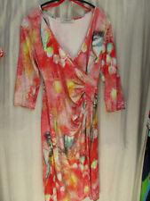 3/4 Arm Damenkleider aus Viskose in Größe 42