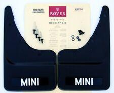 Classic Mini Rear Mud Flap Kit, Black, Genuine Rover, New - SKU AJM164