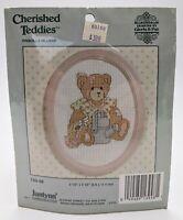 JannLynn Cherished Teddies Cross stitch kit 139-48