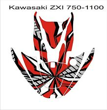 KAWASAKI ZXi 750 1100 jetski Jet Ski Graphic Kit Wrap pwc decals stickers 1