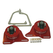 1982-1992 Camaro Firebird Adjutable Camber Caster Plates Strut Mounts - BLACK -