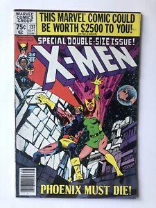 Uncanny X-Men 137 Marvel 1980/Claremont Byrne/Phoenix Arc- Key Newsstand FN-/FN