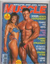 Le Monde Du MUSCLE #150 bodybuilding magazine/Dennis Newman 12-95 (Fr)