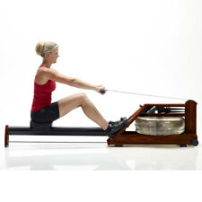 WaterRower Heritage A1 Rowing Machine with Quick Start LCD Monitor in Rosewood