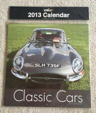 Classic Cars 2013 Calendar