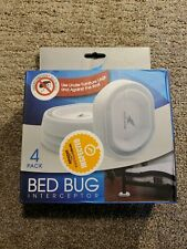 Bed Bug Trap by Pesthawk. Use Insect Interceptor Kits Under Furniture Legs, B.
