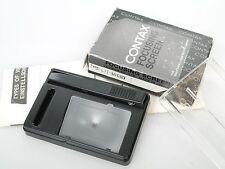 Contax Einstellscheibe Focusing Screen Microprismenraster ? Microprism screen