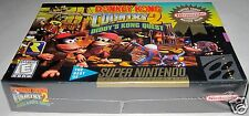 Donkey Kong Country 2: Diddy's Kong Quest (SNES) Brand NEW!! h-seam!