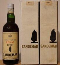 vin Porto SANDEMAN ROYAL PORT Fine Tawny bouteille 70cl wine wein 1950 - 1960